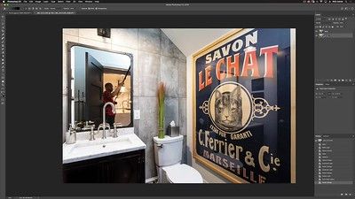 03-32-Powder Room-Photoshop Compositing