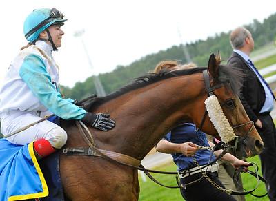 Hi Finn och Ana O'Brien | Bro Park 160619 | Foto: Stefan Olsson / Svensk Galopp