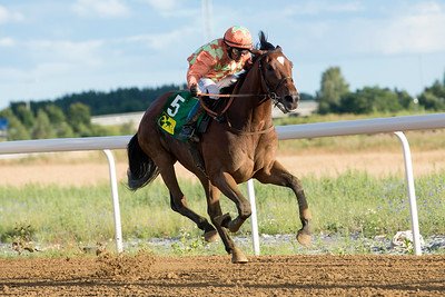 Duke Derby vinner med Per-Anders Gråberg | Bro Park 160802 | Foto: Elina Björklund / Svensk Galopp