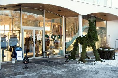 Publikplats Bro Park 161214  Foto: Elina Björklund / Svensk Galopp