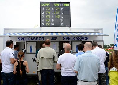 Spelkassor | Gärdet 140606 | Foto: Stefan Olsson / Svensk Galopp