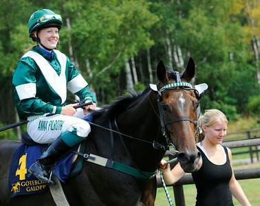 Kid Creole och Anna Pilroth | Göteborg 140727 | Foto: Stefan Olsson / Svensk Galopp