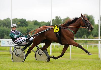 Return Ticket vinner med Bo Falsig | Göteborg 160710 | Foto: Stefan Olsson / Svensk Galopp