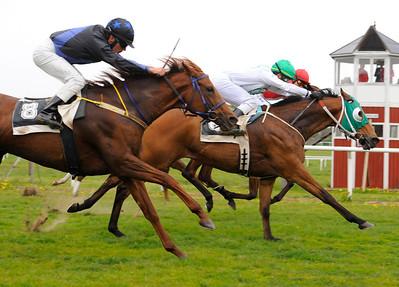 Sharav vinner med Valmir de Azeredo 110522 Göteborg Galopp  Foto: Stefan Olsson / Svensk Galopp
