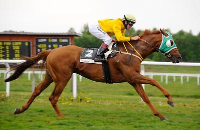 El Classico vinner med Dina Danekilde Göteborg 110522  Foto: Stefan Olsson / Svensk Galopp
