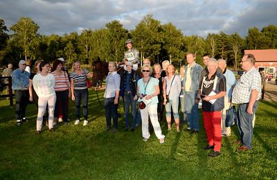 Romanoff i vinnarcrirkeln | Göteborg Galopp 130824 | Foto: Stefan Olsson / Svensk Galopp