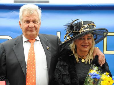 Stefan och Dalva Friborg | ZAWAWI CUP (L) | Jägersro 110814  Foto: Stefan Olsson / Svensk Galopp