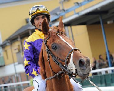 She's So Nice och Sriram Pawar | Jägersro 110907  Foto: Stefan Olsson / Svensk Galopp