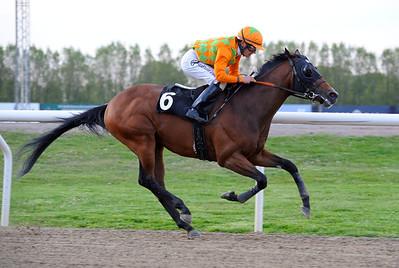 Birkebeinern vinner med Per-Anders Gråberg | Jägersro 120515 |  Foto: Stefan Olsson / Svensk Galopp