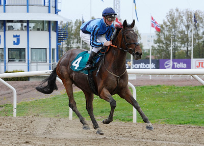 Romanoff vinner enkelt under Oliver Wilson | Jägersro 130507 | Foto: Stefan Olsson / Svensk Galopp