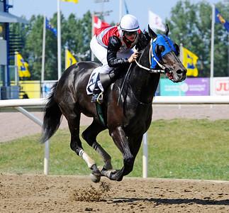 Outlaw Pete vinner med Elin Ahlin | Jägersro 160525 | Foto: Stefan Olsson / Svensk Galopp