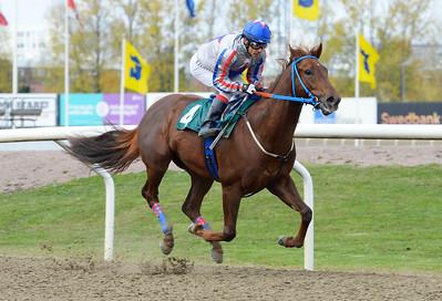 I Kirk vinner med Carlos Lopez  Jägersro 161026 Foto: Stefan Olsson / Svensk Galopp