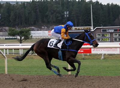 Dorothy Hill vinner med Carlos Lopez | Täby 131211 | Foto: Klara Röstlund