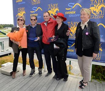Prisutdelning KRAFFT Breeders' Trophy Consolation  | Täby 120909 |  Foto: Stefan Olsson / Svensk Galopp