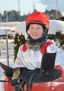 Rebecca Colldin efter sin tredje dagsseger | Täby 130120 | Foto: Stefan Uppström