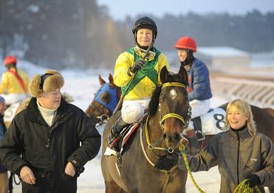 Prince Hamlet och Fabienne De Geer tillsammans med Peter och Gisela Jardby   Täby 130127   Foto: Stefan Uppström