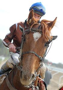 Constable Country och Jacob Johansen | Täby 130508 |  Foto: Stefan Olsson / Svensk Galopp