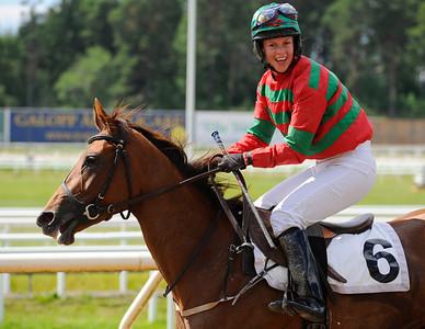 Miss Marple och Eilidh Grant | Täby 130703 |  Foto: Stefan Olsson / Svensk Galopp