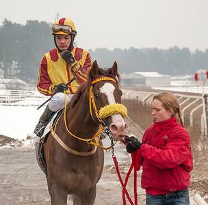 Erroll och Carlos Lopez | Täby 140202 | Foto: Elina Björklund / Svensk Galopp