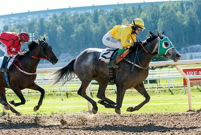 Royal Music vinner med Anna Pilroth | Täby 140903 | Foto: Elina Björklund / Svensk Galopp