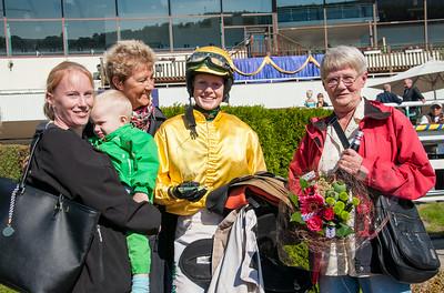 Prisutdelning i Ole Larsen Young Riders | Täby 140903 | Foto: Elina Björklund / Svensk Galopp