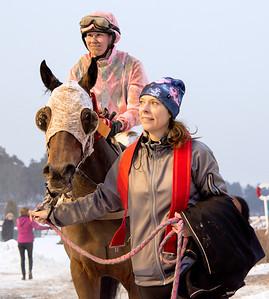 Senshi och Elin Rödjare   Täby 160124   Foto: Elina Björklund / Svensk Galopp