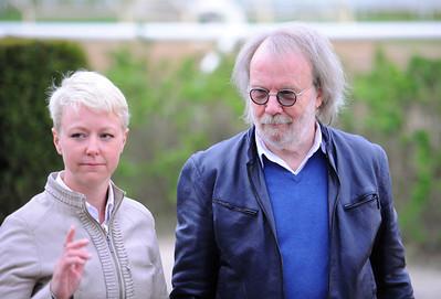 Jessica Long och Benny Andersson   Täby 160518   Foto: Stefan Olsson / Svensk Galopp