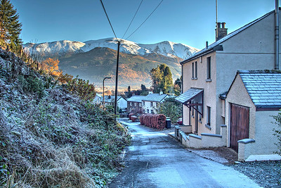 Our house on The Ravine in Thornthwaite