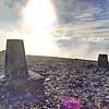 Skiddaw Summit Sky