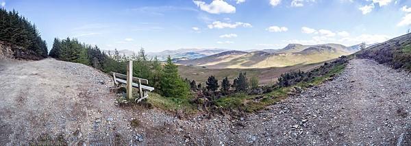 4th May : Panoramic View Over Kinn