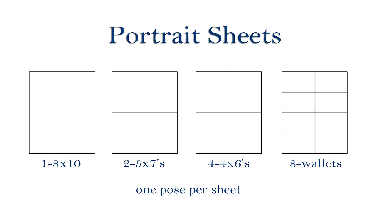 Portrait Sheets