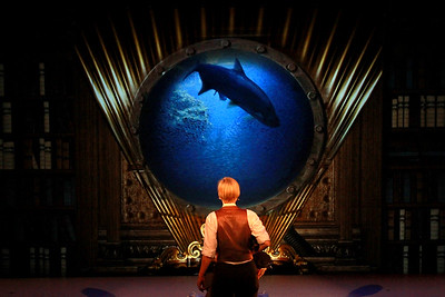 Suzy Jane Hunt  in TWENTY THOUSAND LEAGUES UNDER THE SEA at the New Victory Theatre. Photo by Itai Erda