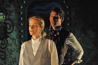 Suzy Jane Hunt and Brendan McMahon in TWENTY THOUSAND LEAGUES UNDER THE SEA at Asolo Rep. Photo by Gary W.  Sweetman.