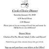 Microsoft Word - Cooks Choise Dinner 1 Flyer