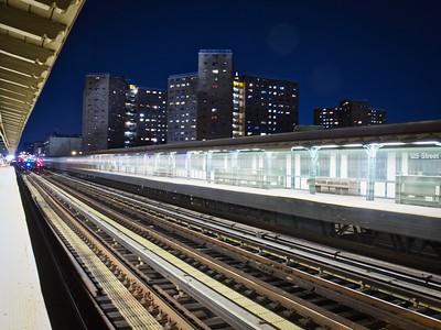 Northbound Ghost Subway