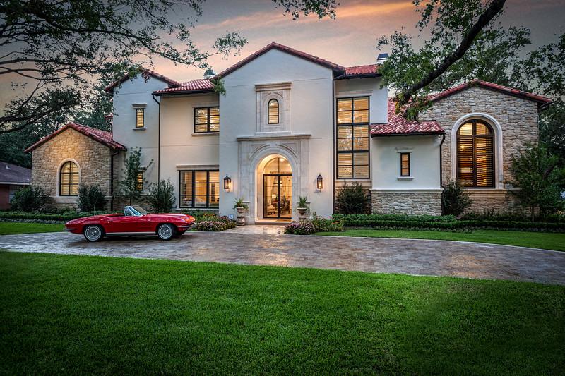 Texas Luxury Home Terracotta Roof