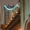 Manhattan Bridge Lights