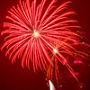 Red Fireworks