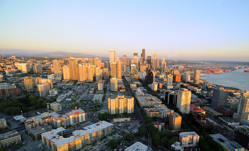 From Seattle Needle