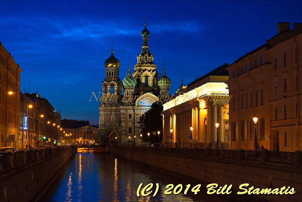 The Church of the Savior and the Spilled Blood