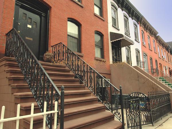 Brick Row Houses