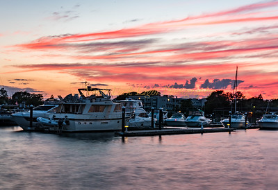 Greenport Harbor Sunset