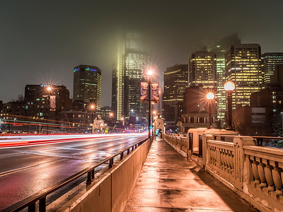 Center Street Bridge, YYC, Alberta, Canada