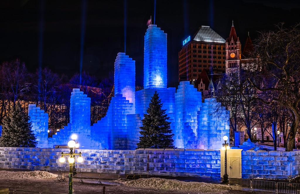 Ice Castle Rice Park