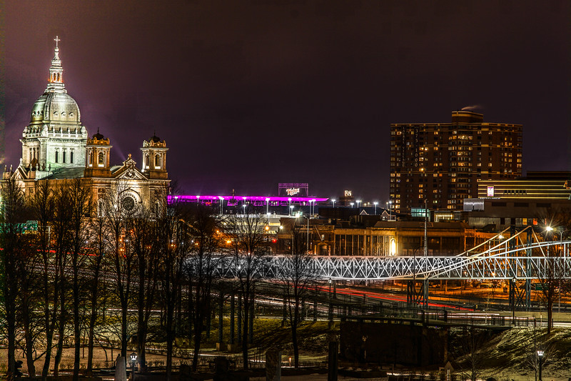 Basilica of St Mary, Irene Hixon Whitney Bridge