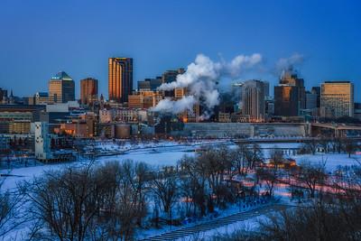 Freezing Downtown