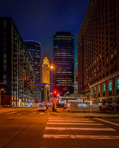 Minneapolis At Night