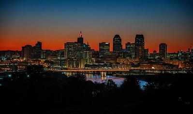 Saint Paul At Sunset