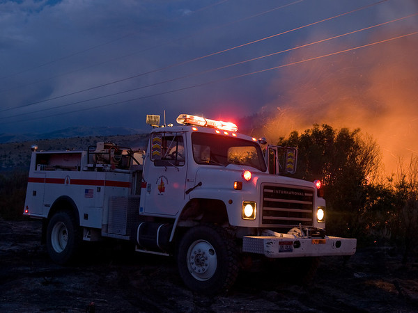 Raft River Narrows Fire