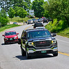 KRISTOPHER RADDER — BRATTLEBORO REFORMER<br /> People gathered along thge roads from Twin Valley Middle High School, in Whitingham, Vt., to downtown Wilmington, Vt., to congratulate the graduating class of 2020 as they drive by during a parade on Saturday, June 6, 2020. June 6 was the original day that the seniors were to graduate but was moved to later in July because of the COVID-19 pandemic.